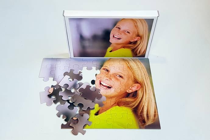 Foto puzzel 120 stukjes met doos