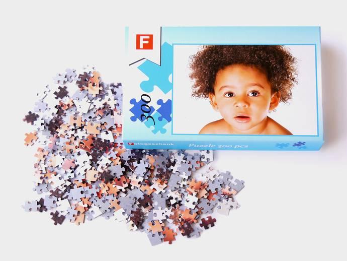Fotopuzzel met 300 puzzelstukjes en luxe doos