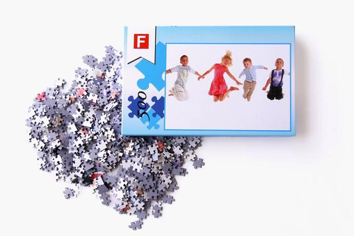 Fotopuzzel met 500 puzzelstukjes en luxe doos