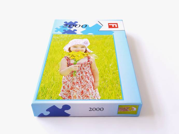 Puzzel 2000 stukjes met doos
