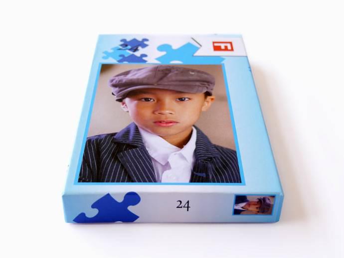 Puzzel 24 stukjes 15x21 cm met doos